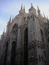 イタリアのミラノ大聖堂